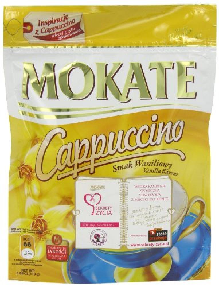 Mokate Vanilla Flavour Cappuccino 110g