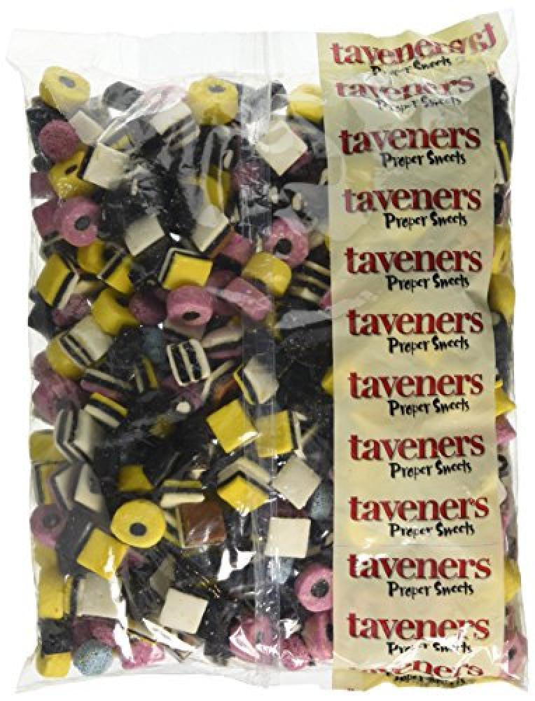 Taveners Liquorice Allsorts 3 Kg