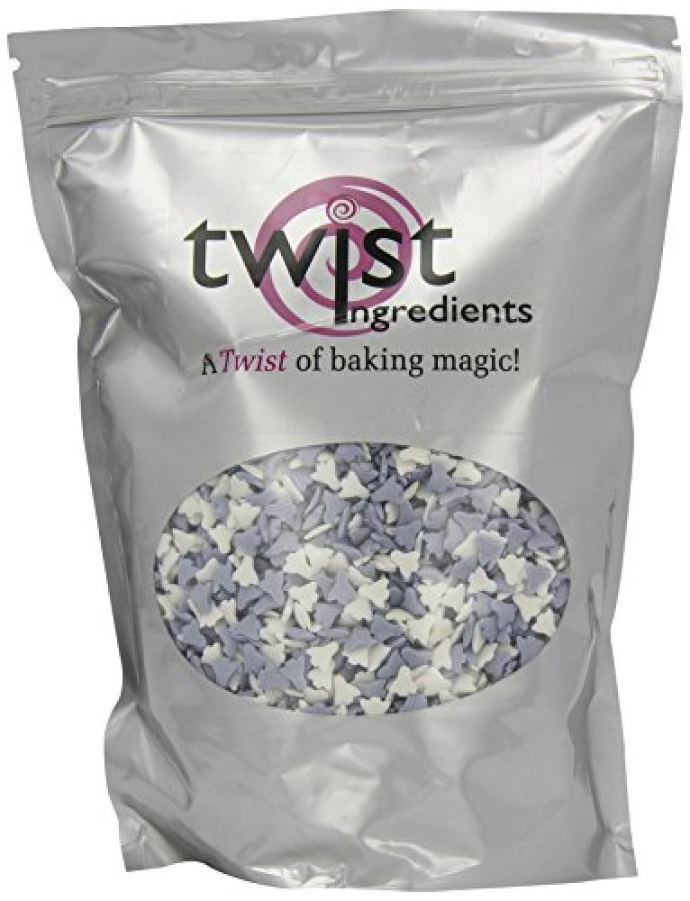 Twist Ingredients Twist Ingredients Blue and White Sugar Rockets 800 g