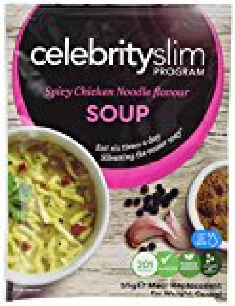 Celebrity Slim Spicy Chicken Noodle Flavour Soup 55 g