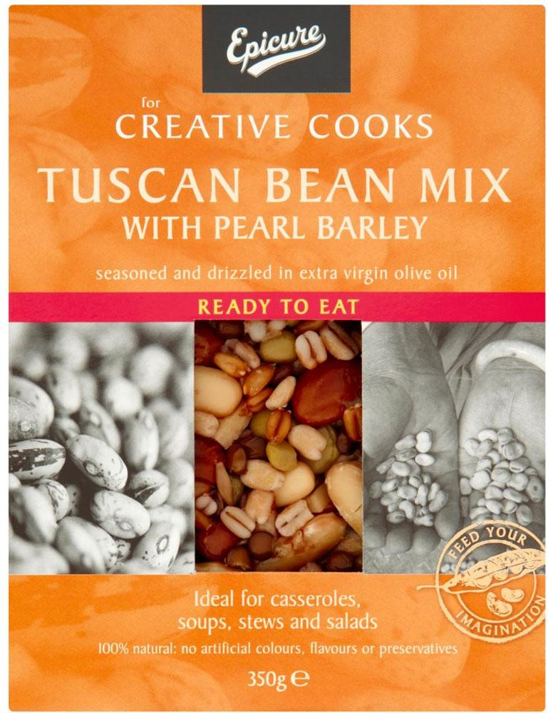 Epicure Tuscan Bean Mix with Pearl Barley 350g
