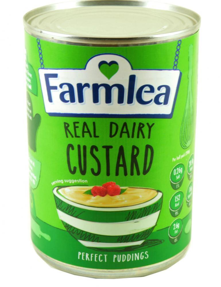 Farmlea  Real Dairy Custard 400g
