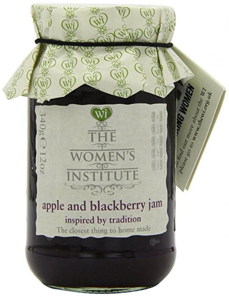 CLEARANCE  The Womens Institute CLEARANCE The Womens Institute CLEARANCE The Womens Institute Apple and Blackberry Jam 340g