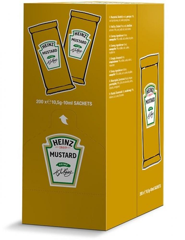 CASE PRICE  Heinz Mustard 10ml x 200