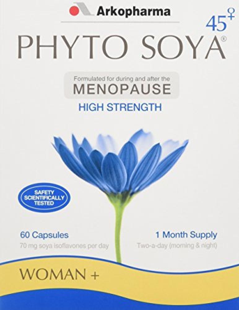 Arkopharma Phyto Soya Menopause 60 Capsules
