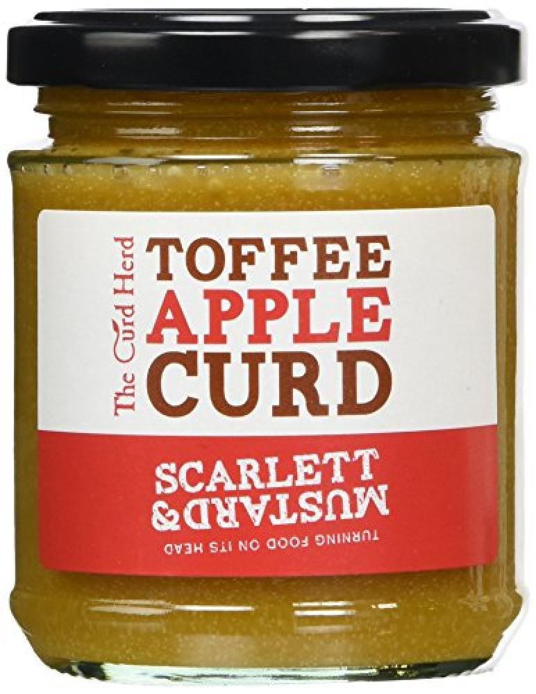 Scarlett and Mustard LTD Toffee Apple Curd 210 g