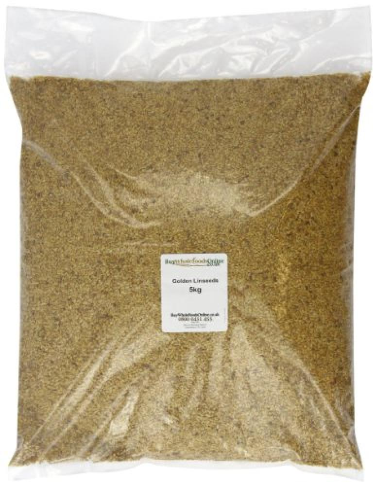 Buy Whole Foods Golden Linseeds 5 Kg