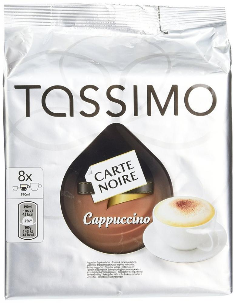 Tassimo Carte Noire Cappuccino coffee 16 discs 8 servings