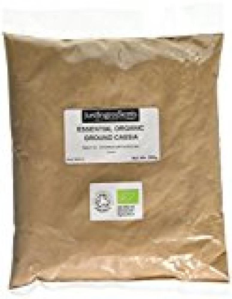JustIngredients Essential Organic Cassia Ground Cassia Lignea Loose 250g