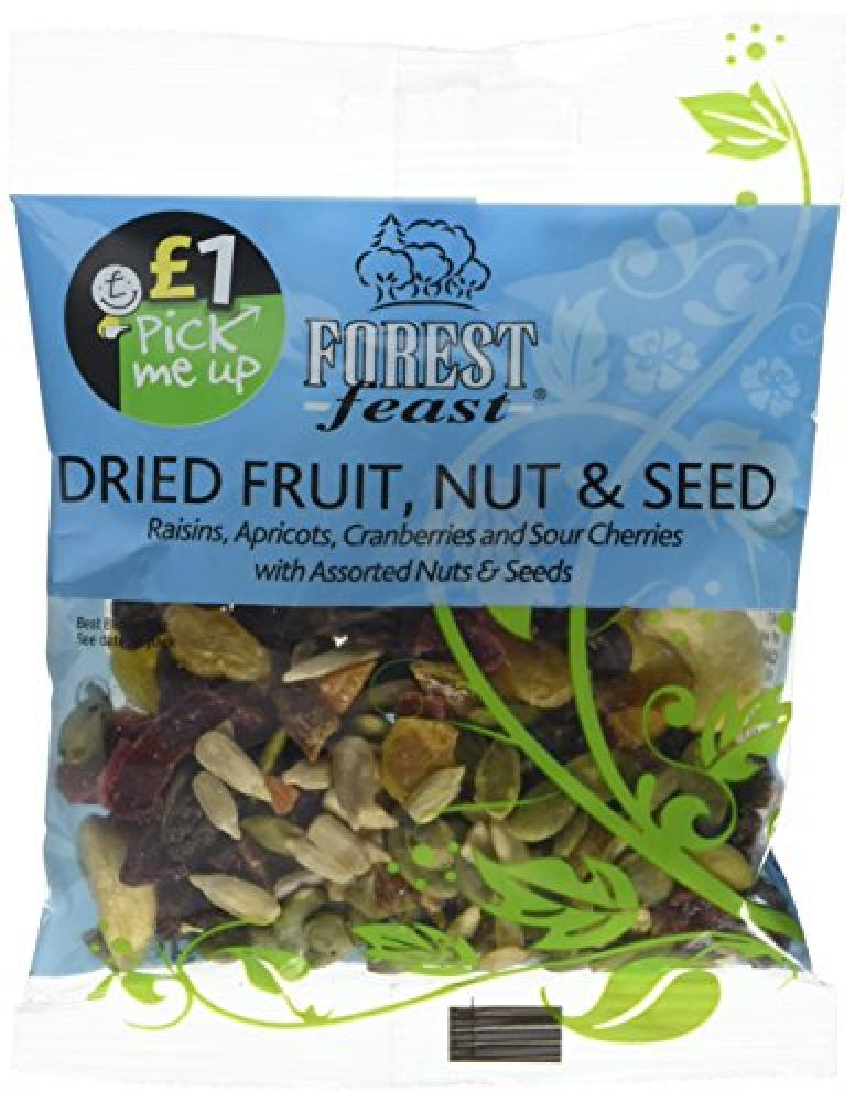 Forest Feast Wholesnacks - Dried Fruit Nut and Seeds 75 g