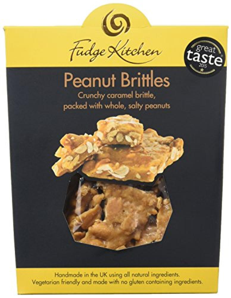 Fudge Kitchen Handmade Peanut Brittle - Gluten Free - Vegetarian 150 g