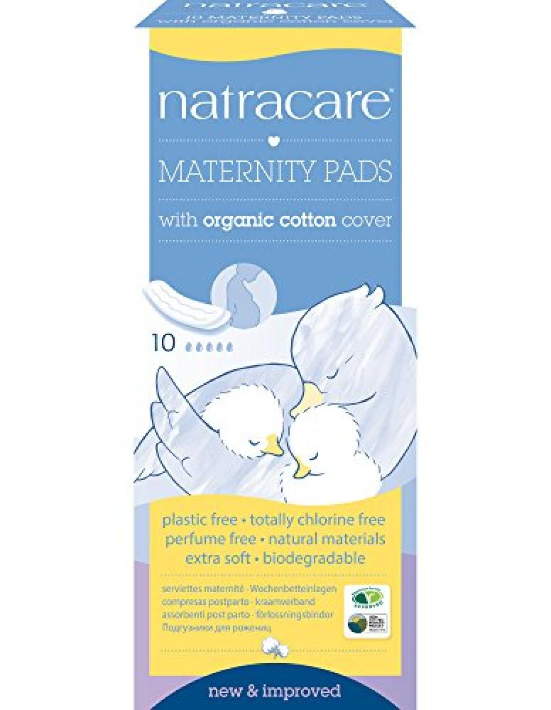 Natracare Organic Maternity Pads Pack of 10