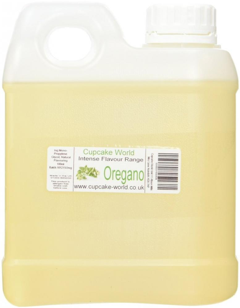 Cupcake World Oregano Intense Food Flavouring 1000ml