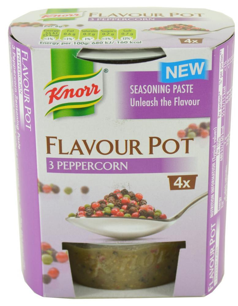 Knorr Flavour Pot 3 Peppercorn 23g x 4