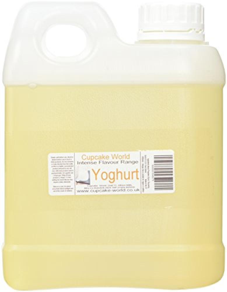 Cupcake World Intense Flavour Range Yoghurt 1Litre