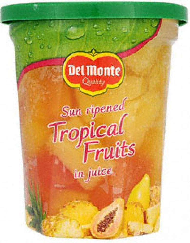 Case Price Del Monte Tropical Fruits In Juice 6 X 410g Approved Food