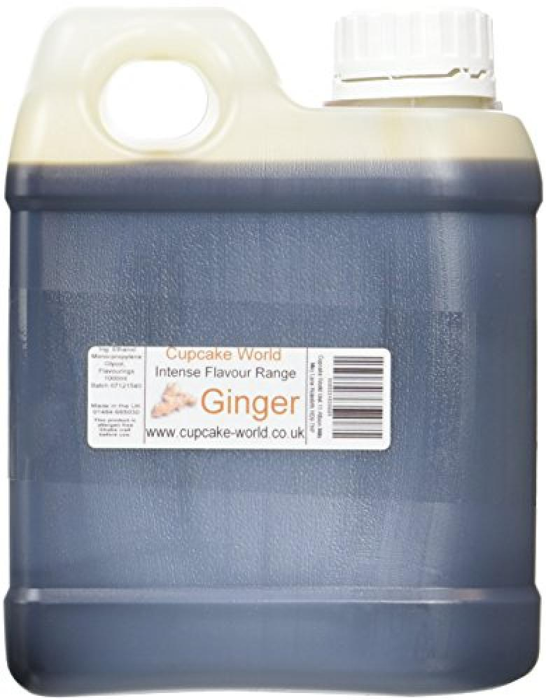Cupcake World Intense Flavour Range Ginger 1L