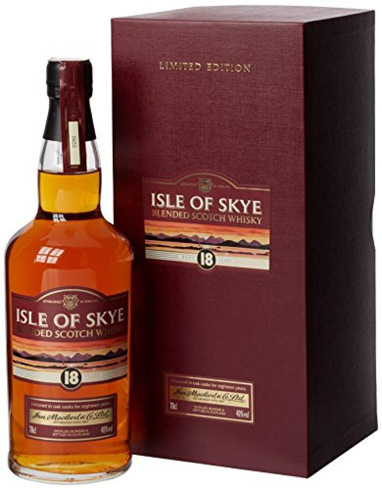 Isle of Skye 18 Year Old Blended Scotch Whisky 70 cl