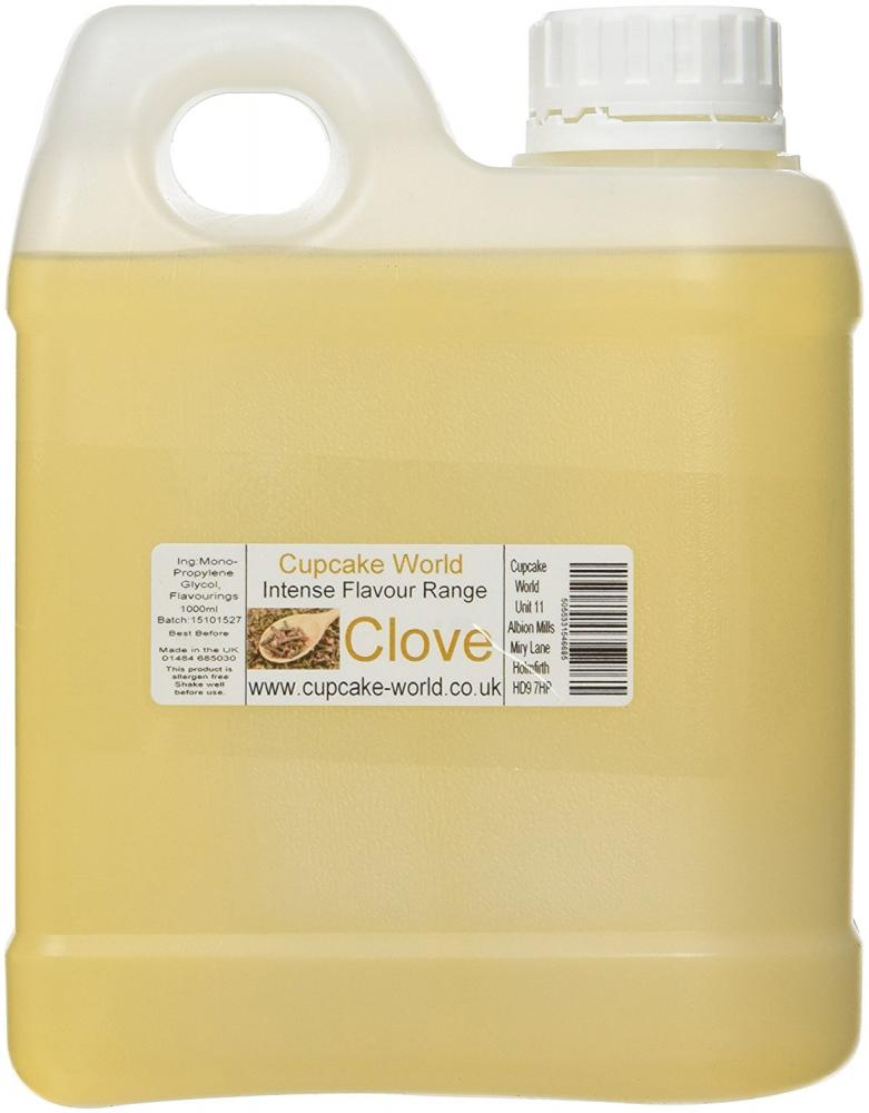 Cupcake World Clove Intense Food Flavouring 1l