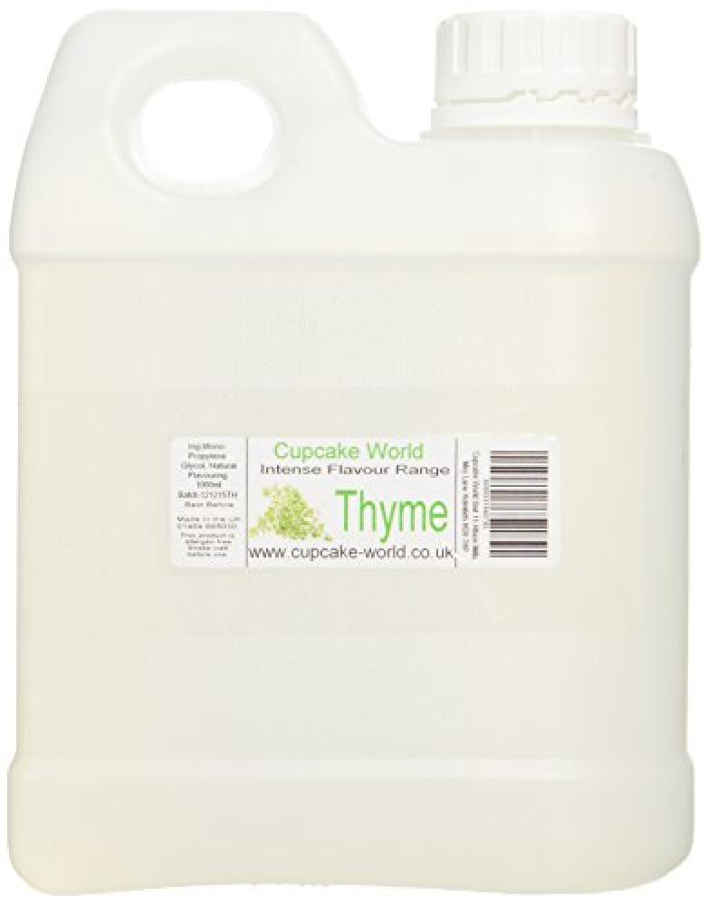 Cupcake World Thyme Intense Food Flavouring 1000 ml