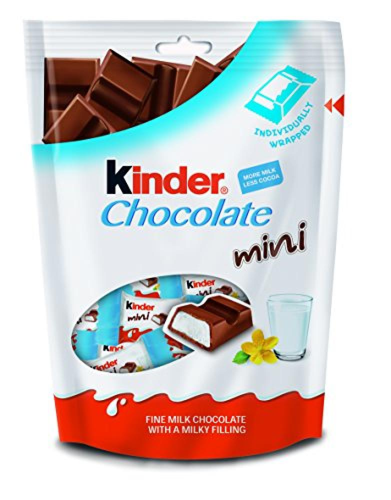 Kinder Mini Chocolate Pouch 108g