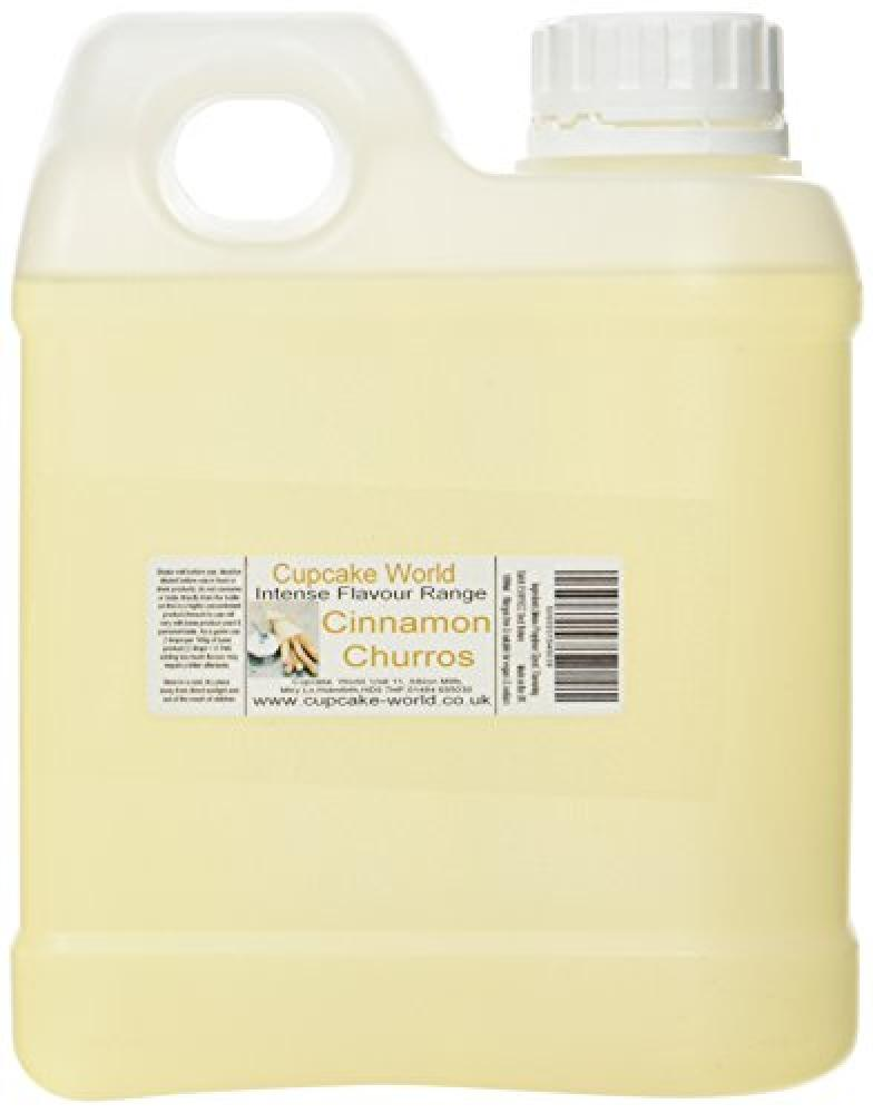 Cupcake World Cinnamon Churros Intense Food Flavouring 1000 ml