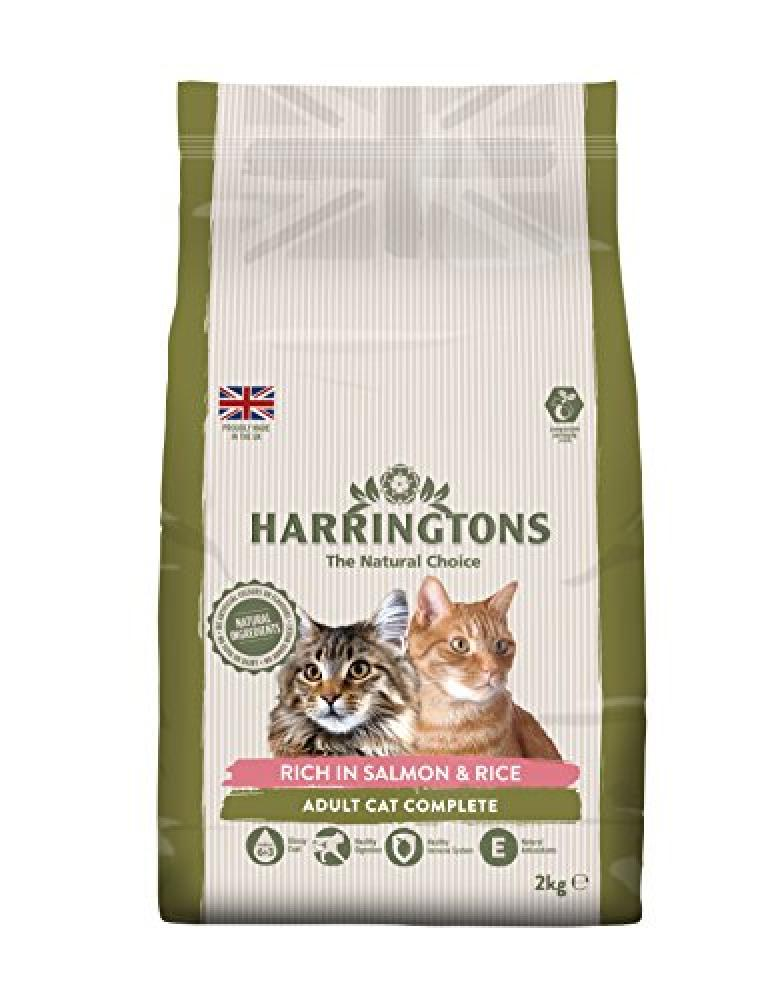Harringtons Cat Food Complete Salmon with Rice 2kg