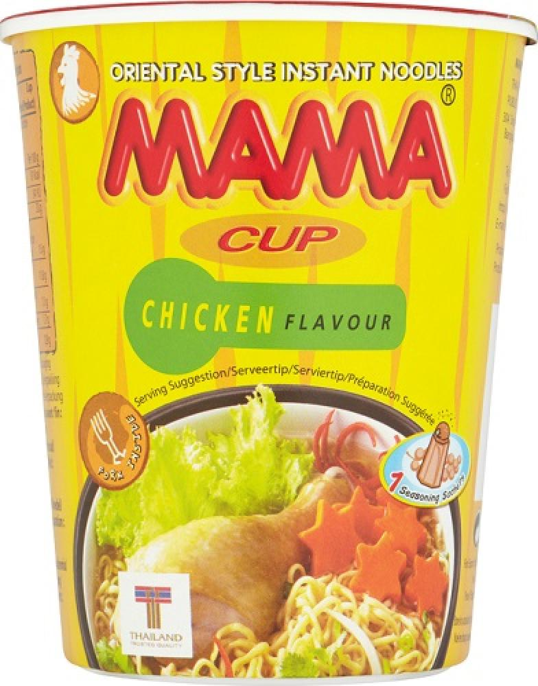 Mama Mama Mama  Mama Instant Noodle Cup Chicken Flavour 70g