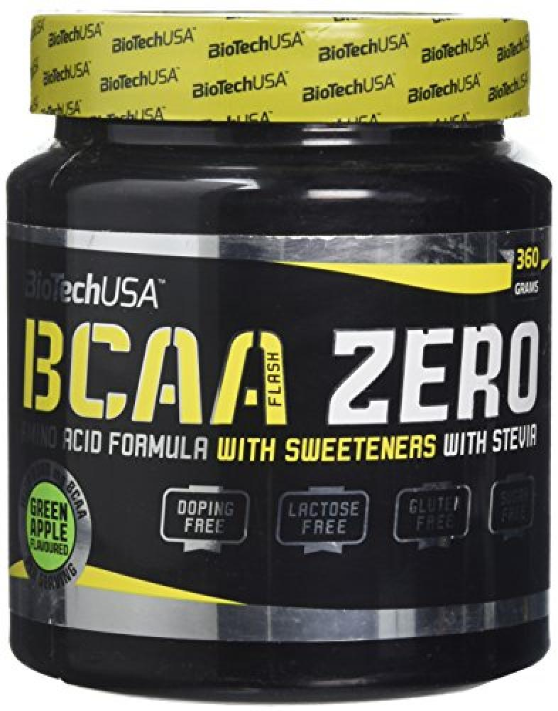 Biotech BCAA Zero Powder - Green Apple Flavour 360g