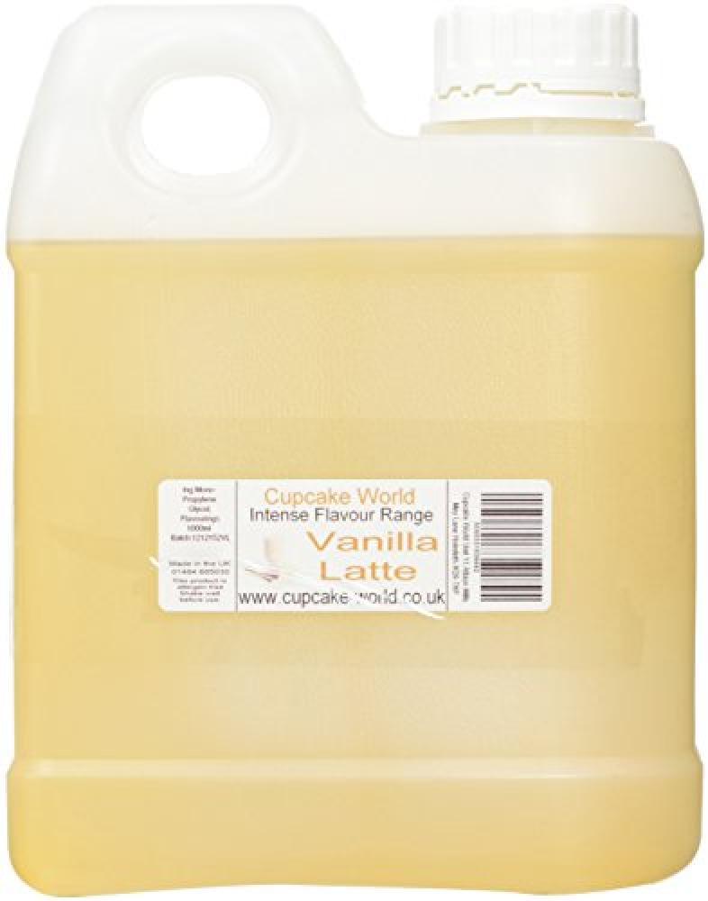 Cupcake World Vanilla Latte Intense Food Flavouring 1000 ml