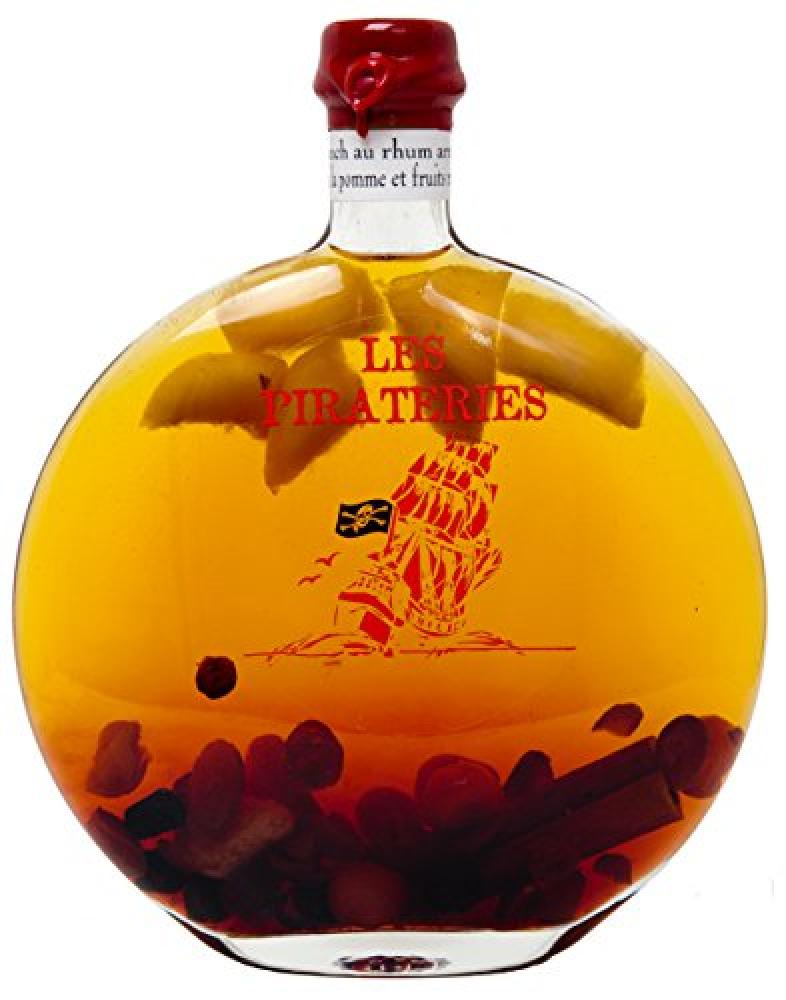 Fisselier Pirateries Apple Red Fruits Rum Punch Liqueur 50 cl