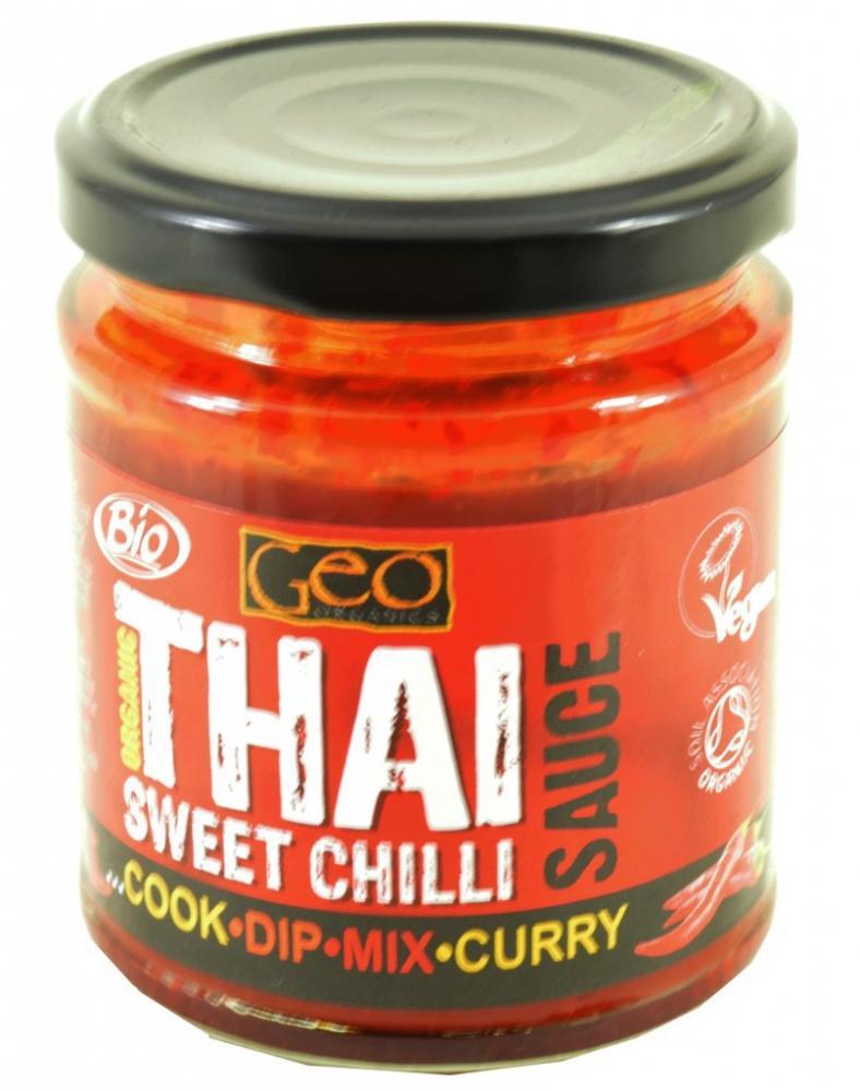 Geo Organics Organic Thai Sweet Chilli Sauce 180g