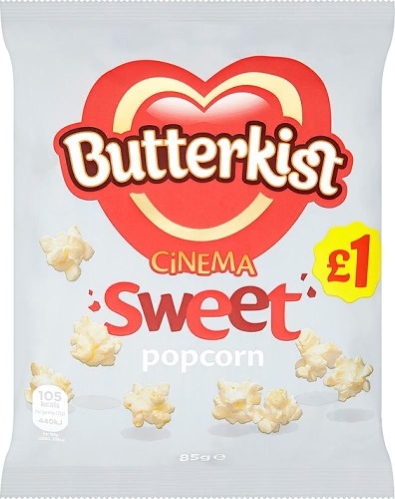 Butterkist Sweet Cinema Style Popcorn 85g