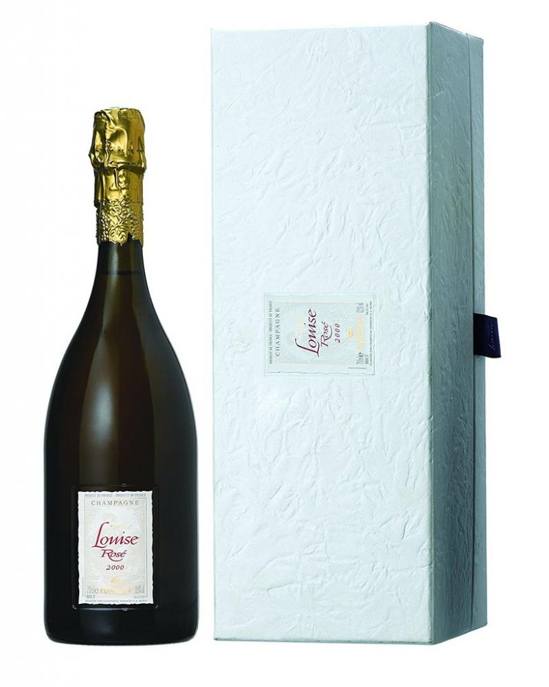 Pommery SA Cuvee Louise Rose Champagne Gift Box 750ml NO BOX