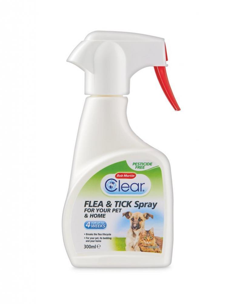 Bob Martin Clear Flea and Tick Spray 300 ml