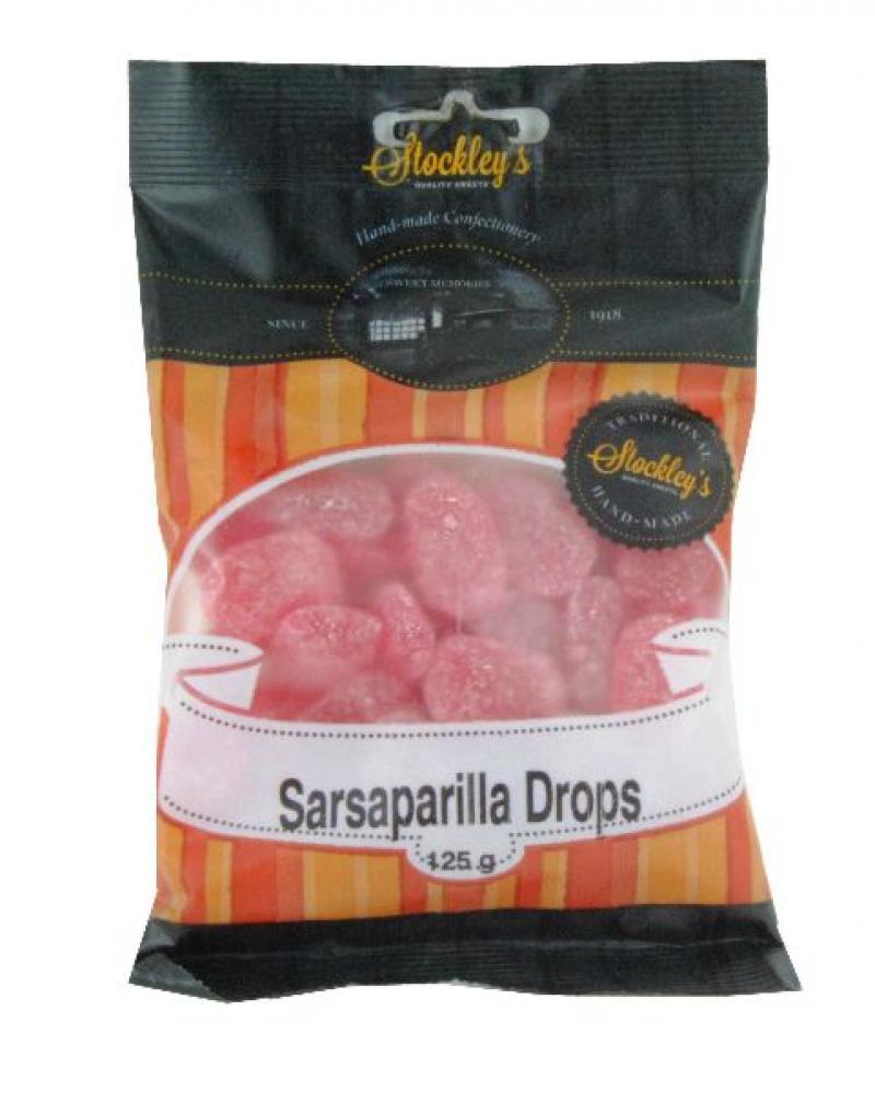 Stockleys Sarsaparilla Drops 125g