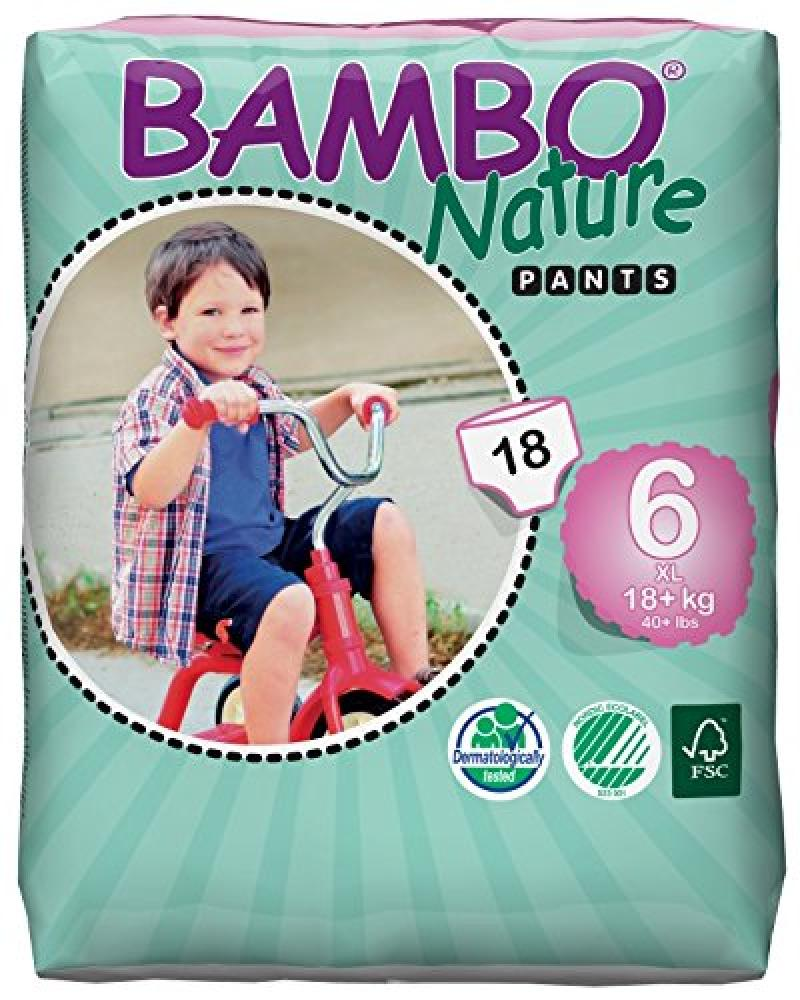 Bambo Nature Extra Large Pull Up Training Pants - 18 pack