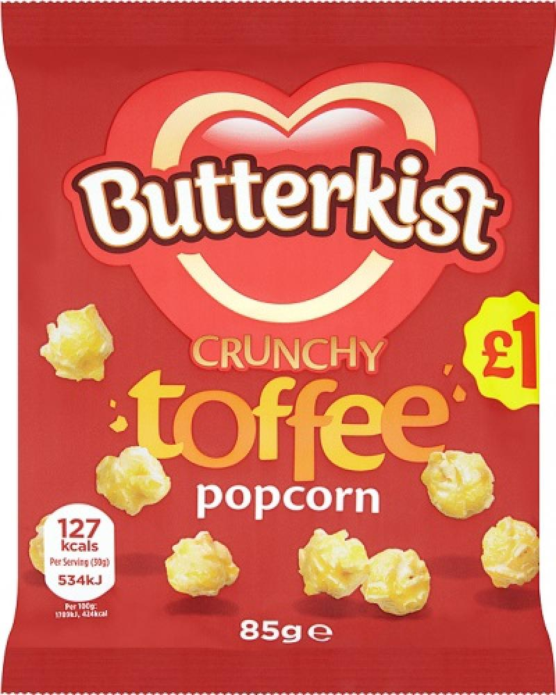Butterkist Toffee Popcorn 85g