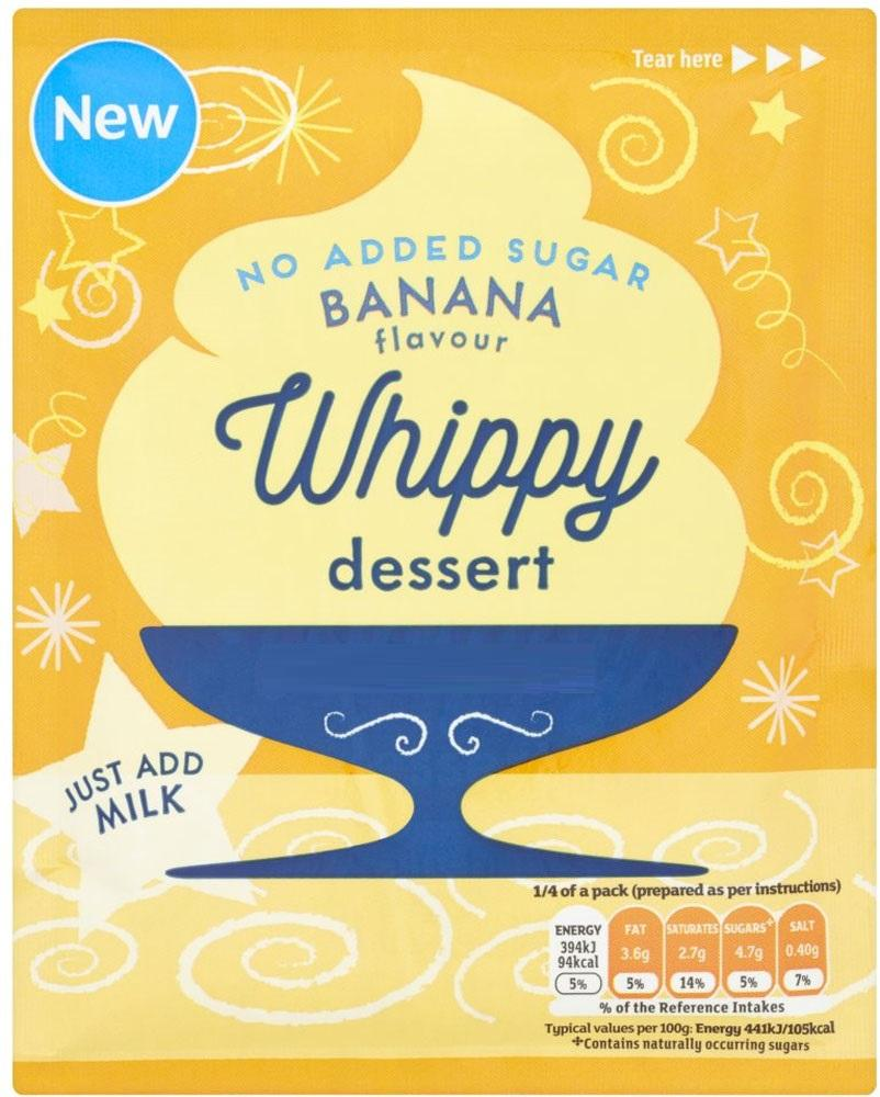 Perfectly Good Banana Flavour Whippy Dessert 49g