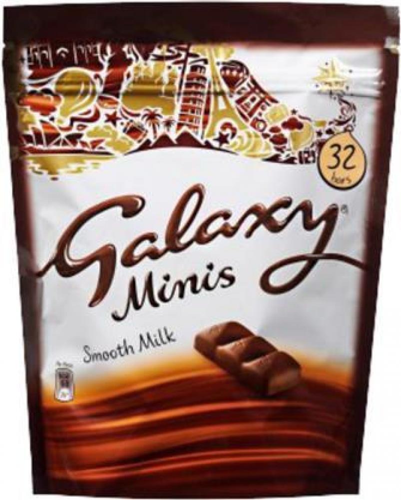 Galaxy Minis Smooth Milk Chocolate 400g 32 bars