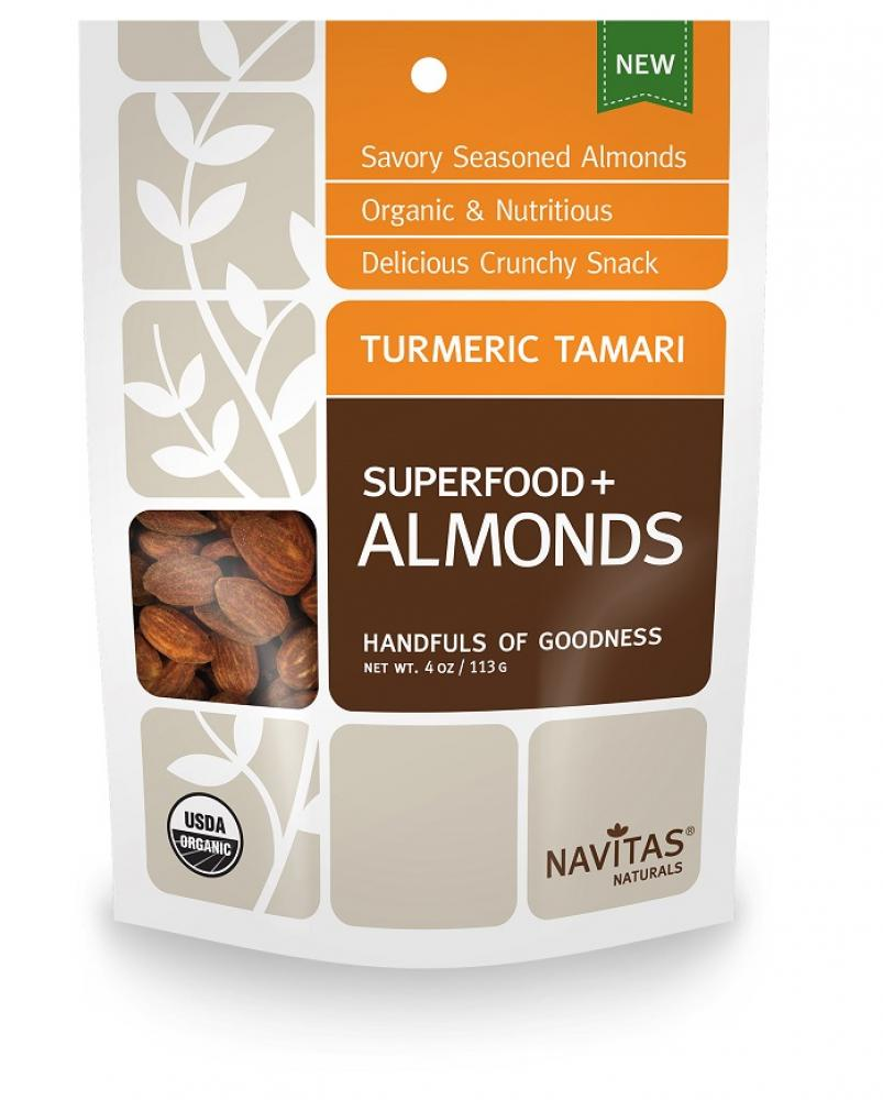 Navitas Naturals Turmeric Tamari and Almonds 113g