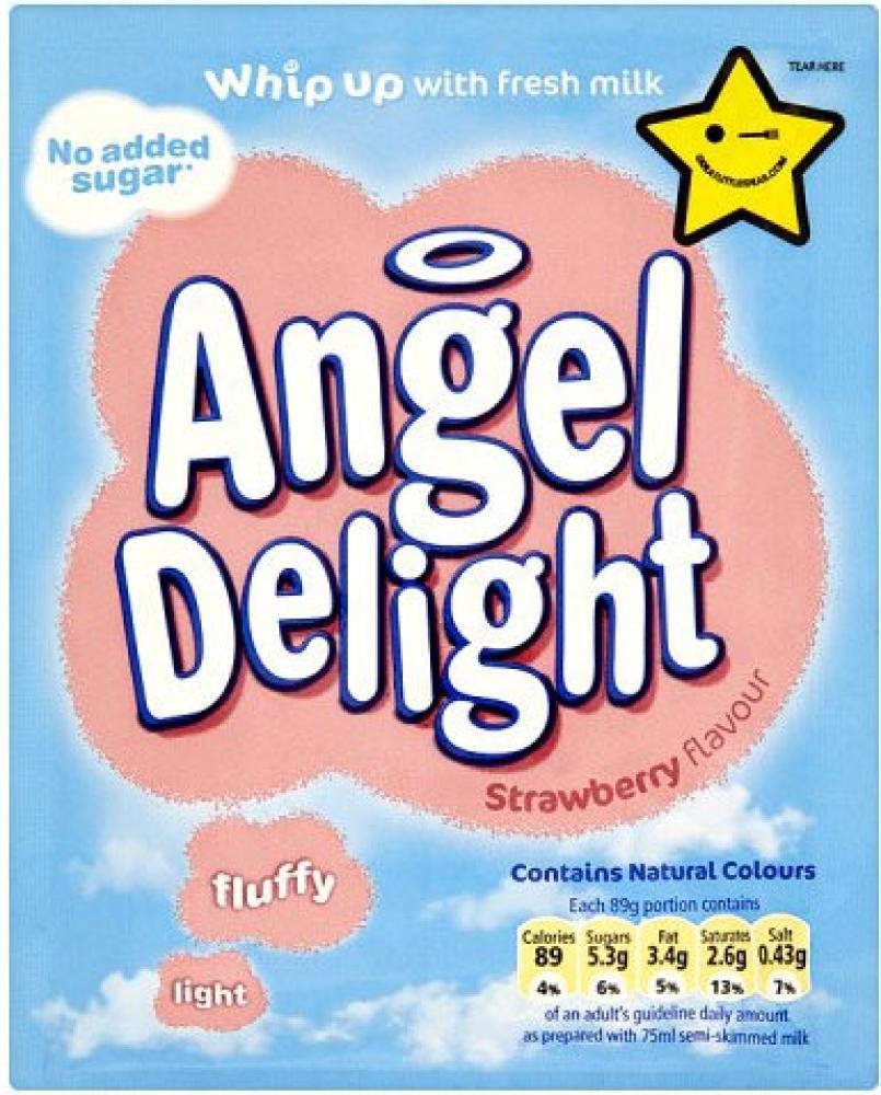 Angel Delight Strawberry Flavour Dessert 47g