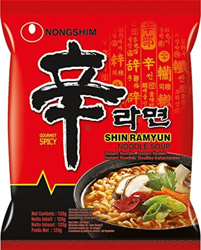 Nong Shim Shin Ramyun Noodle Soup 120g