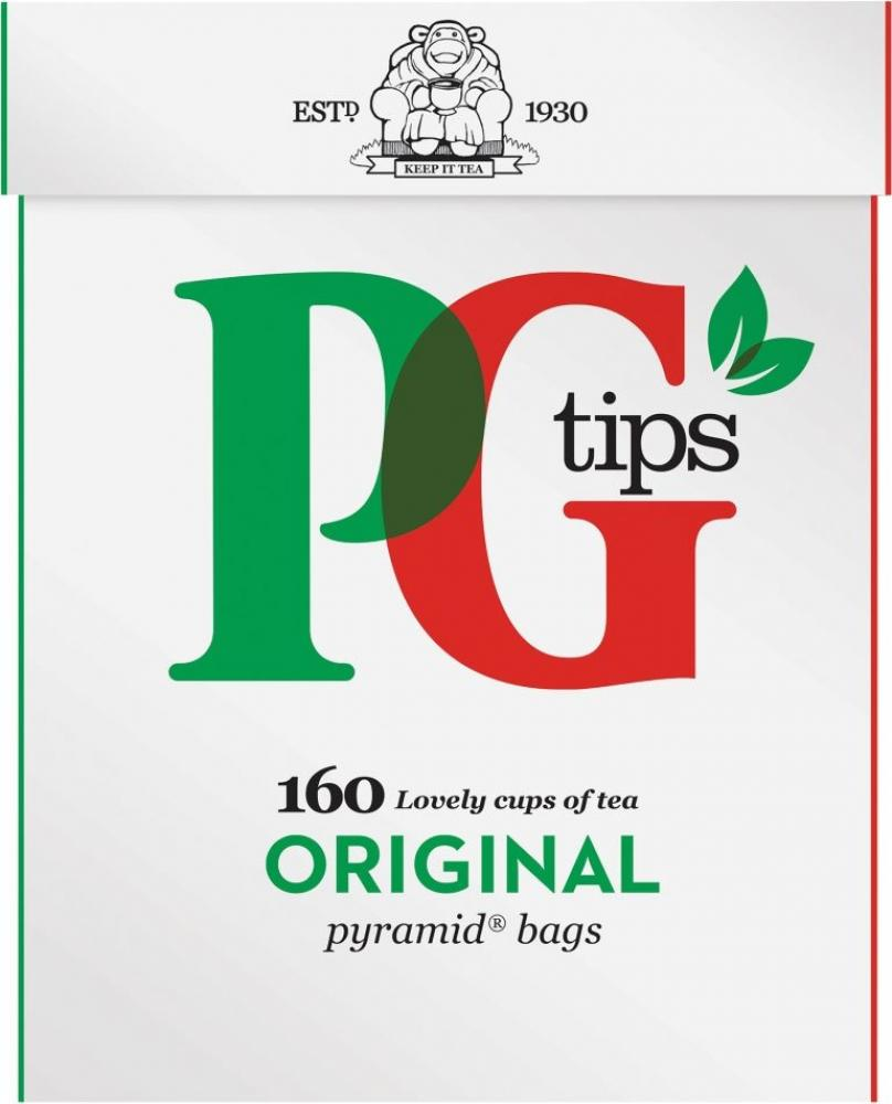 PG Tips 160 Pyramid Tea Bags