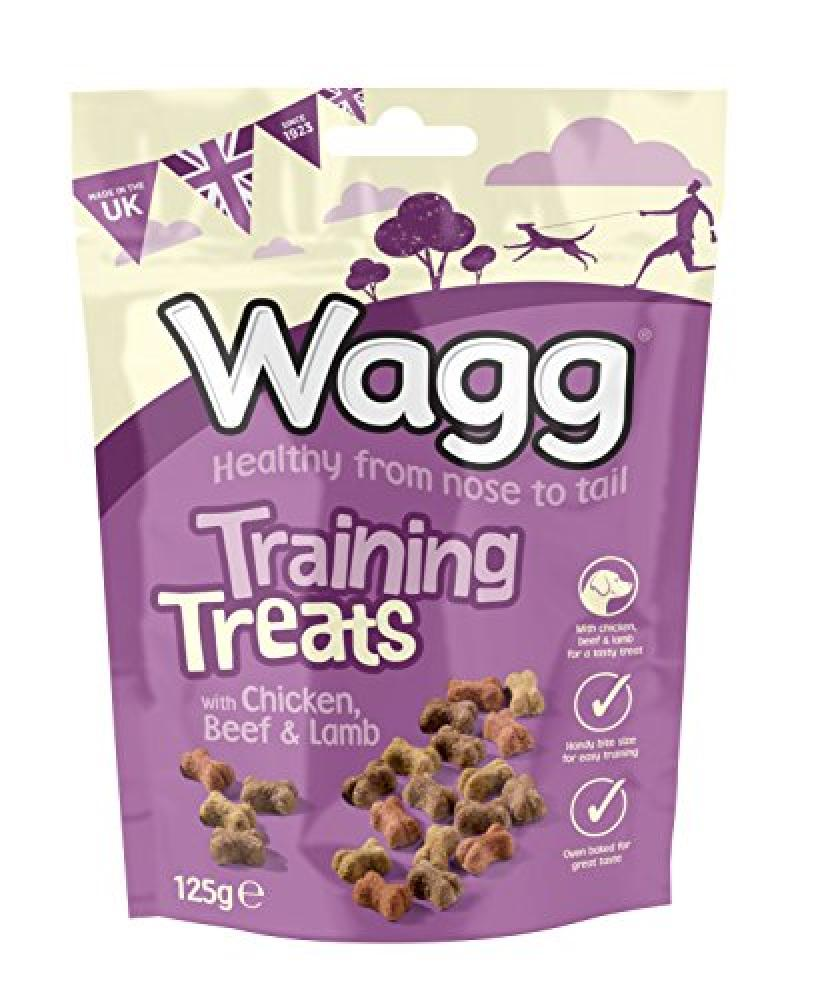 Wagg Training Treats With Chicken Beef and Lamb 125 g