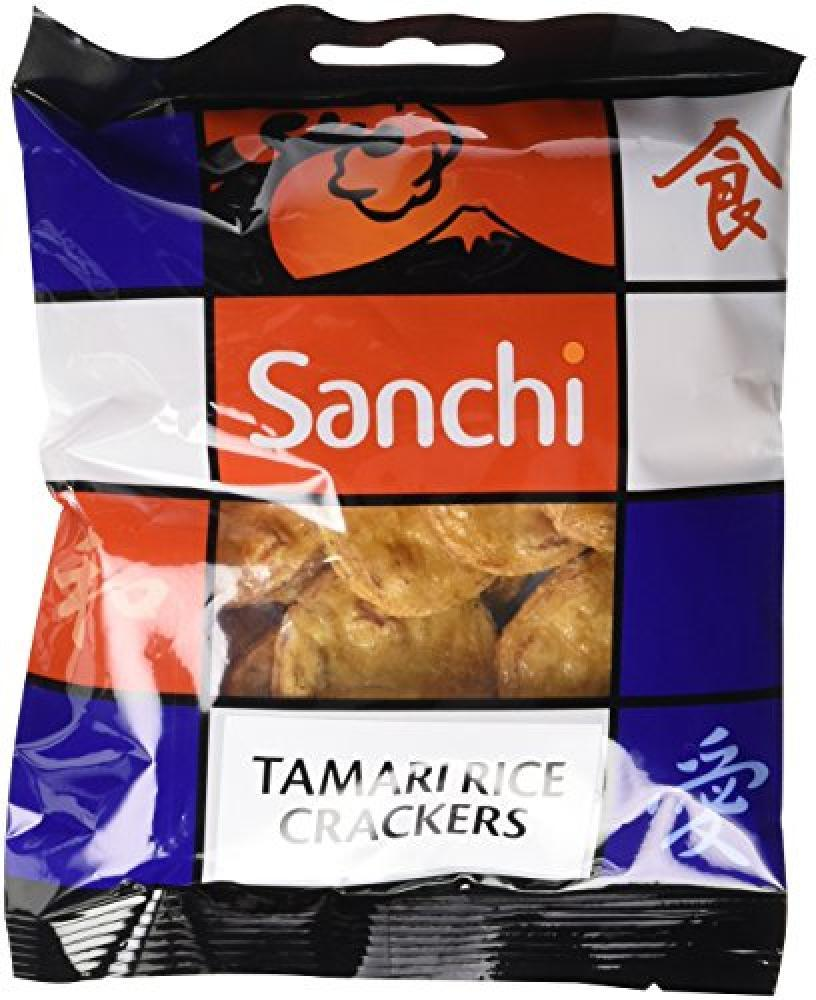 FURTHER REDUCTION  Sanchi Tamari Rice Crackers 50g