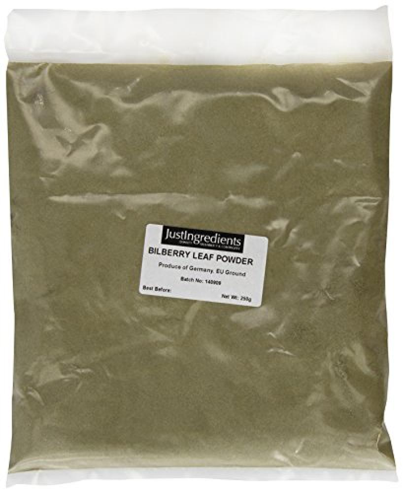 JustIngredients Essential Bilberry Leaves Powder 250 g