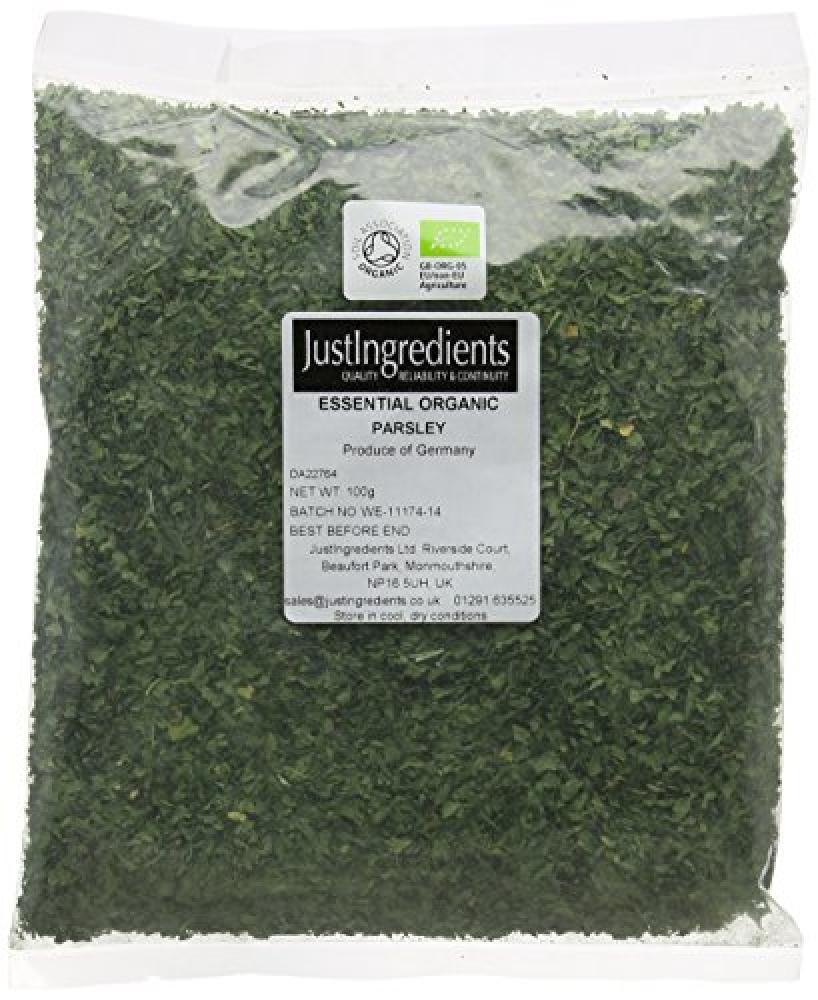 JustIngredients Essential Organic Parsley Loose 100g