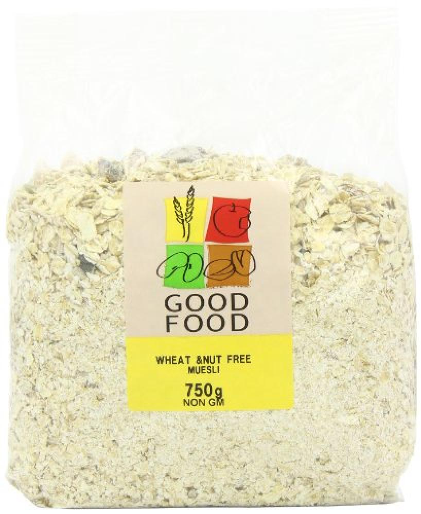 Mintons Good Food Pre Packed Wheat and Nut Free Muesli 750g