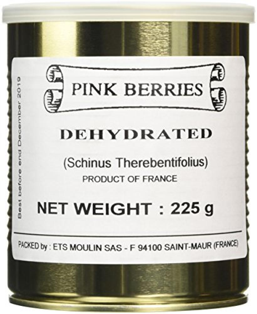 Moulin Dehydrated Pink Berries Peppercorns 225 g